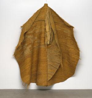 Magdalena Abakanowicz's Yellow Abakan (Museum of Modern Art, 1967–1968)