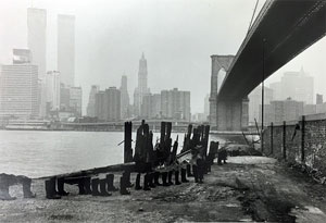 Eleanor Antin's 100 Boots Under the Brooklyn Bridge (Alden Projects, 1973)