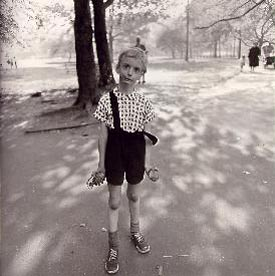 Child with a Toy Hand Grenade in Central Park (Estate of the artist, 1962)