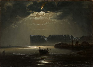 Peder Balke's North Cape by Moonlight (Private collection, Oslo, 1848)