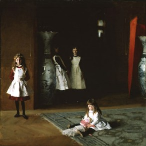 Sargent's The Daughters of Edward Darley Boit (Museum of Fine Arts, Boston, 1882)