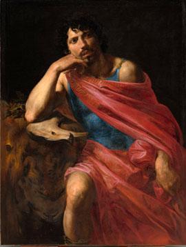 Valentin de Boulogne's Samson (Cleveland Museum of Art, 1631)