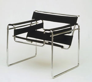 Marcel Breuer's Wassily Chair (Museum of Modern Art, 1927–1928)