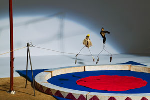 Alexander Calder's Circus, Tightrope Artists (Whitney Museum, 1926–1931)