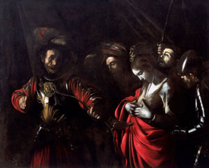 Caravaggio's Martyrdom of Saint Ursula (Intesa Sanpaolo Collection, Naples, 1610)
