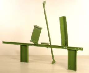Anthony Caro's Sculpture Three (Patsy R. and Raymond D. Nasher Collection, Nasher Sculpture Garden, 1961)