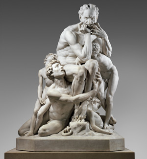 Jean-Baptiste Carpeaux's Ugolino and His Sons (Metropolitan Museum of Art, 1861–1867)