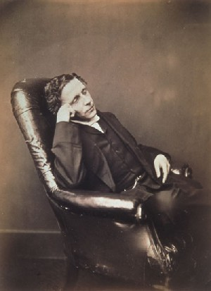 Lewis Carroll's Self-Portrait (National Museum of Photography, Film, and Television, 1875)
