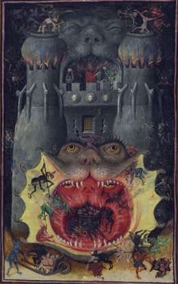 Master of Catherine of Cleves's Mouth of Hell (Morgan Library, c. 1440)
