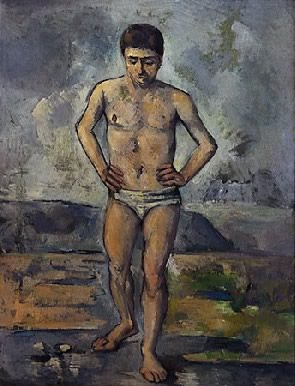 Paul Cézanne's Bather (Museum of Modern Art, 1885)