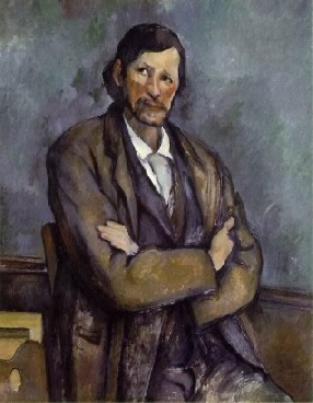 Cézanne's Man with the Crossed Arms (Solomon R. Guggenheim Museum, c. 1899)