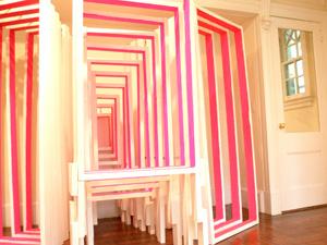 Cordy Ryman's Door (Lesley Heller Workspace, 2007)