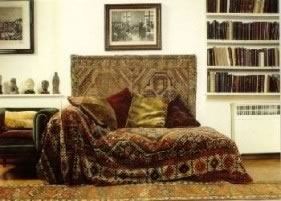 Freud s Consulting Room The arrangement of couch and chair creates a warm   protected Pinterest