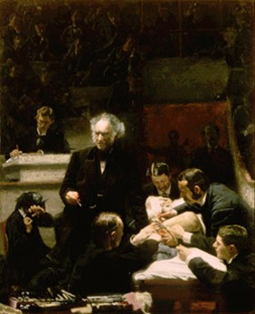Thomas Eakins's The Gross Clinic (Jefferson Medical College, 1875)