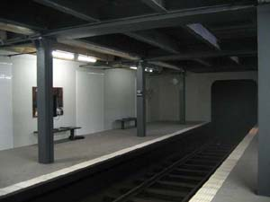 Michael Elmgreen and Ingar Dragset's End Station (Bohen Foundation, 2005)