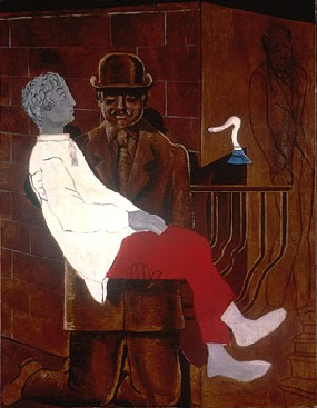 Max Ernst's Pietá, or Revolution by Night (Tate, photo from Artists Rights Society, 1923)