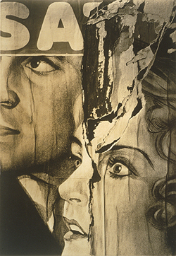 Walker Evans's Torn Movie Poster (Ford Motor Company Collection, 1930)