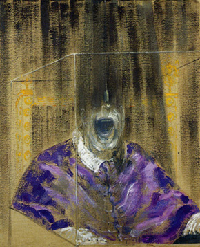 Francis Bacon's Head VI (Arts Council, Southbank Centre, London, estate of the artist/ARS/DACS, 1949)