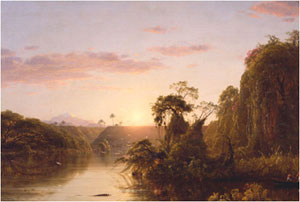 Frederic Edwin Church's Scene on the Magdalene (National Academy Museum, 1854)