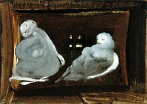 Eugen Gabritschevsky's Untitled (Galerie Chave, 1949)