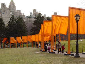 Christo and Jeanne-Claude's The Gates (Central Park Conservancy, 2005)