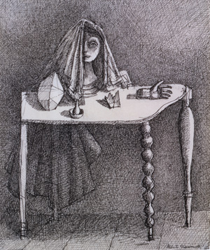 Alberto Giacometti's The Surrealist Table (Michael and Judy Steinhardt, 1933)