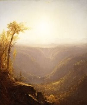 Sanford Robinson Gifford's A Gorge in the Mountains: Kauterskill Clove (Metropolitan Museum of Art, 1862)