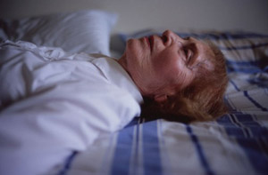 Nan Goldin's My Mother Laying on Her Bed, Salem (Matthew Marks, 2005)