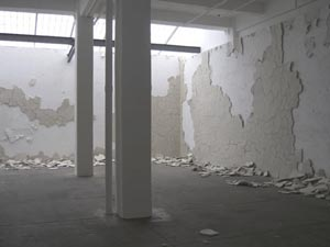 Andy Goldsworthy's White Walls (Day 4) (Galerie Lelong, 2007)