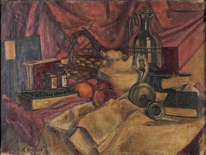 Adolph Gottlieb's Untitled (Still-life) (Cheryl McGinnis gallery, 1924)