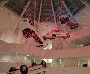 Cai Guo-Qiang's Inopportune (Seattle Art Museum, photo by David Heald, 2006)