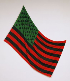 David Hammons's African-American Flag (Museum of Modern Art, 1990)