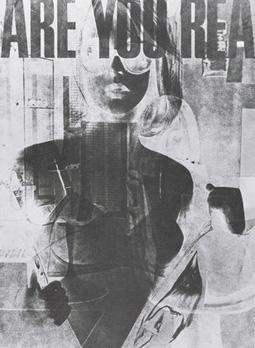 Robert Heinecken's Are You Rea #1 (Jeffrey Leifer collection/Robert Heinecken Trust, 1964-1968)
