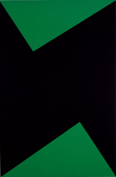 Carmen Herrera's Wednesday (courtesy of the artist/Lisson, Museum Pfalzgalerie Kaiserslautern, 1978)
