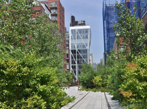 The High Line's second section (Inhabitat, 2011)