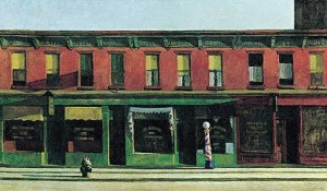 Edward Hopper's Early Sunday Morning (Whitney Museum of American Art, 1930)