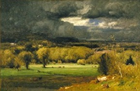 George Inness's The Coming Storm (Albright-Knox Art Gallery, 1878)