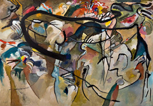 Wassily Kandinksy's Composition V (private collection, 1911)