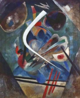 Wassily Kandinksy's White Line (Solomon R. Guggenheim Museum, 1920)