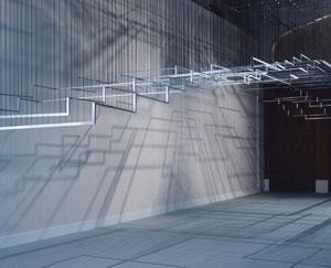 Nadia Kaabi-Linke's Flying Carpet (Solomon R. Guggenheim Museum, 2016)