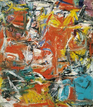 Composition (Guggenheim, photo by the Willem de Kooning Foundation/Artists Rights Society, 1955)