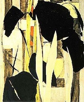 Lee Krasner's Milkweed (Abright-Knox Art Gallery, c. 1955)