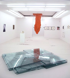 Installation view of Beneath the Underdog (Gagosian, 2007)