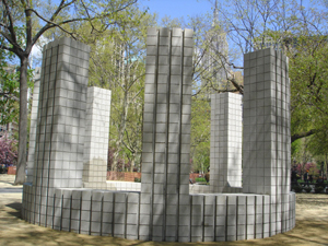 Sol LeWitt's Circle with Towers (Madison Square Park Conservancy, 2005)