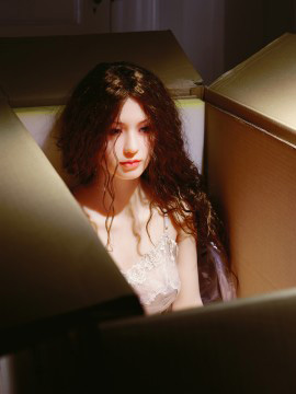 Laurie Simmons's The Love Doll: Day 27 (New in Box) (Salon 94, 2010)