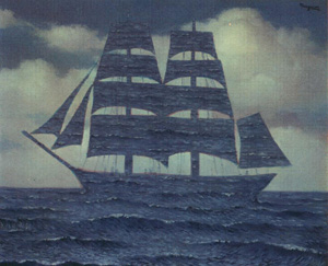 Rene Magritte's The Seducer (Virginia Museum of Fine Arts, 1950)