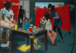 Kerry James Marshall's Untitled (Studio) (Metropolitan Museum of Art, 2014)