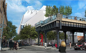 Renzo Piano's plans for the Whitney downtown (Renzo Piano Building Workshop, 2010)