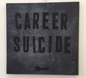 Mark Flood's Career Suicide (Zach Feuer, 2014)