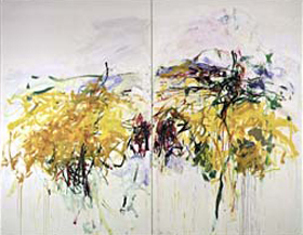 Joan Mitchell's La Grande Vallée IX (Whitney Museum of American Art, 1984)